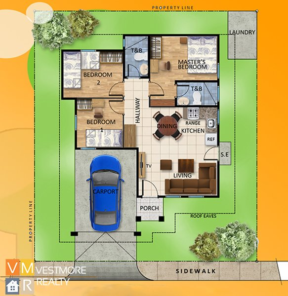 Villa Conchita, Bago Gallera, Davao City Properties, House and Lot in Davao City, Davao Real Estate Investment, Davao Subdivisions, Vestmorerealty.com, Davao City Subdivisions, Davao Properties for Sale, Davao Housing, Davao Real Estate Properties for Sale, Pag-ibig Housing in Davao City, Davao real estate, Davao Real Estate Property, Middle Cost Housing, Bungalow, Helen, Floor Plan