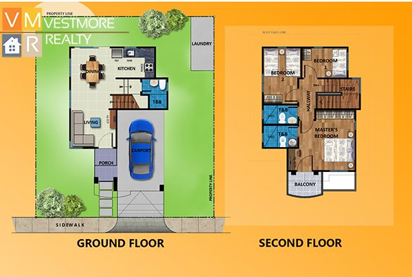 Villa Conchita, Bago Gallera, Davao City Properties, House and Lot in Davao City, Davao Real Estate Investment, Davao Subdivisions, Vestmorerealty.com, Davao City Subdivisions, Davao Properties for Sale, Davao Housing, Davao Real Estate Properties for Sale, Pag-ibig Housing in Davao City, Davao real estate, Davao Real Estate Property, Middle Cost Housing, TwoStorey, Phoebe, Floor Plan