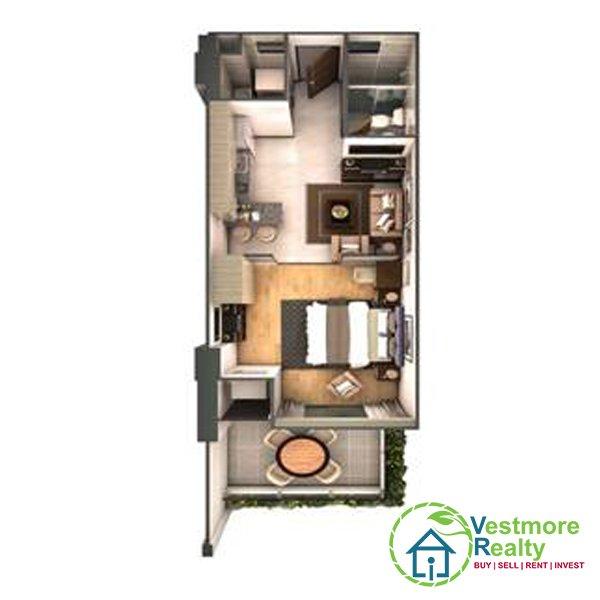 Legacy Leisure Residences Davao Condominium, 1-Bedroom E, Vestmore Realty