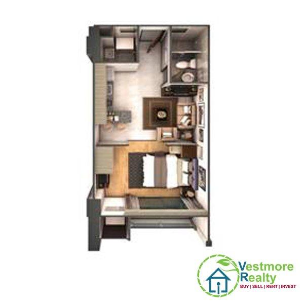 Legacy Leisure Residences Davao Condominium, 1-Bedroom F, Vestmore Realty