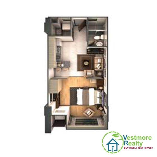 Legacy Leisure Residences Davao Condominium, 1-Bedroom G, Vestmore Realty