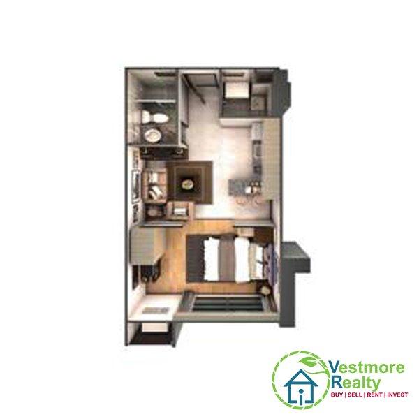 Legacy Leisure Residences Condominium Davao, Vestmore Realty, 1-Bedroom H
