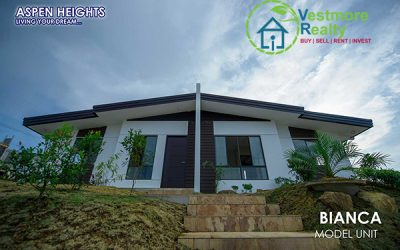 Ready to Occupy Bianca House and Lot at Aspen Heights Subdivision Davao City