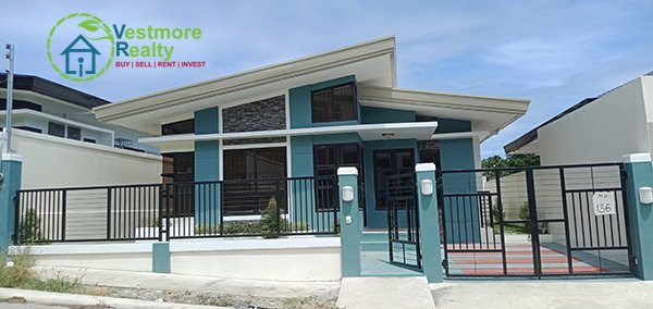 Ready for Occupancy Bungalow House and Lot at Ilumina Estates Davao, Vestmore Realty, Ready to Occupy House and Lot in Davao City