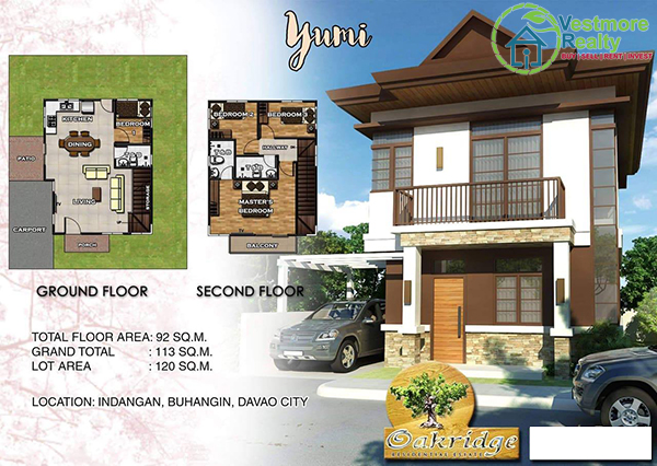 Davao City Properties, Davao City Subdivisions, Davao Housing, Davao Properties for Sale, Davao real estate, Davao Real Estate Investment, Davao Real Estate Properties for Sale, Davao Real Estate Property, Davao Subdivisions, High End Housing, House and Lot in Davao City, Oakridge Residential Estate, House and Lot for Sale in Davao city, Vestmore Realty, Indangan
